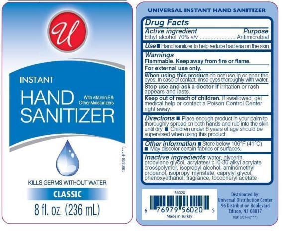 Instant Hand Sanitizer (Ethyl Alcohol) Liquid [Universal Distribution Center Llc]