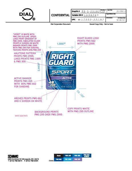 Right Guard Sport Active (Aluminum Zirconium Trichlorohydrex Gly) Stick [Vvf Illinois Services Llc]