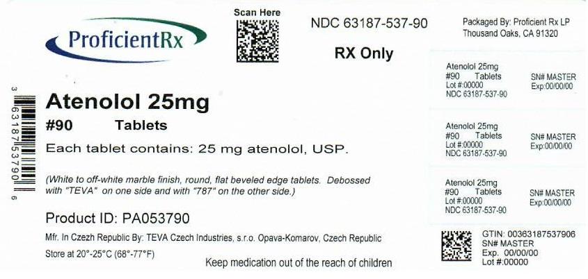 Atenolol Tablet [Proficient Rx Lp]