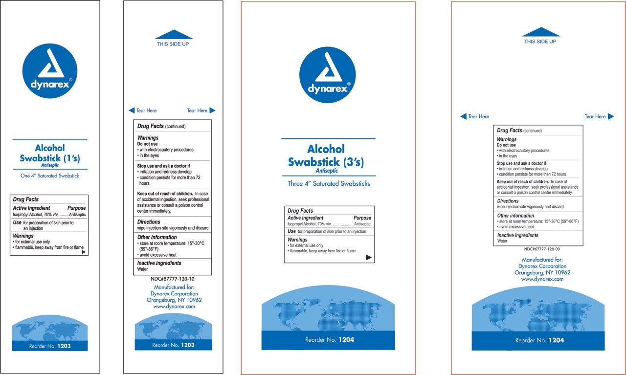 Alcohol Swabstick Swab [Dynarex Corporation]
