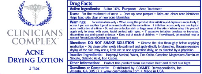 Clinicians Complex (Sulfur) Lotion [Cosmed, Inc.]