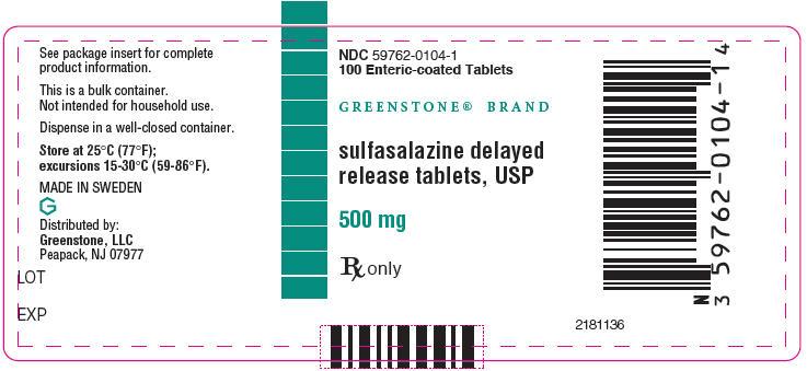 Sulfasalazine Tablet, Delayed Release [Greenstone Llc]