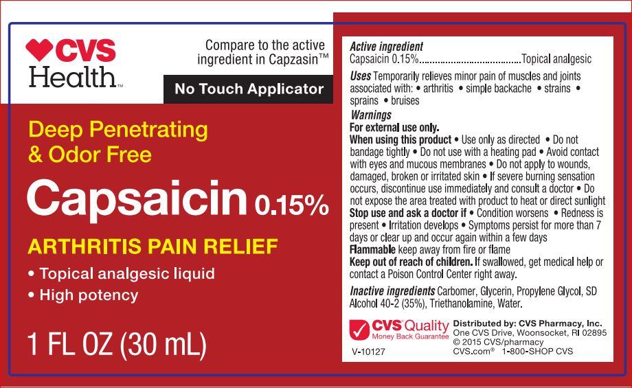 Arthritis Pain Relief (Capsaicin 0.15) Liquid [Cvs]