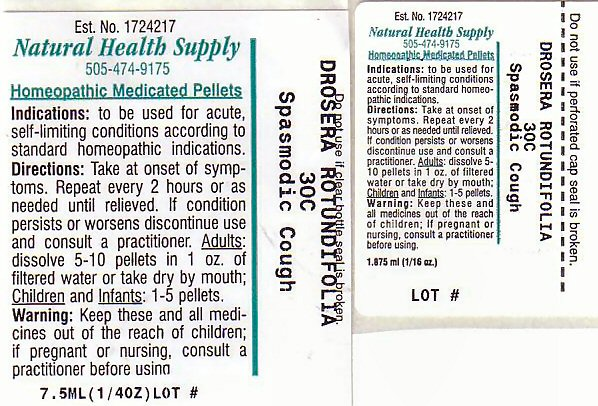Spasmodic Cough (Drosera Rotundifolia) Pellet [Natural Health Supply]
