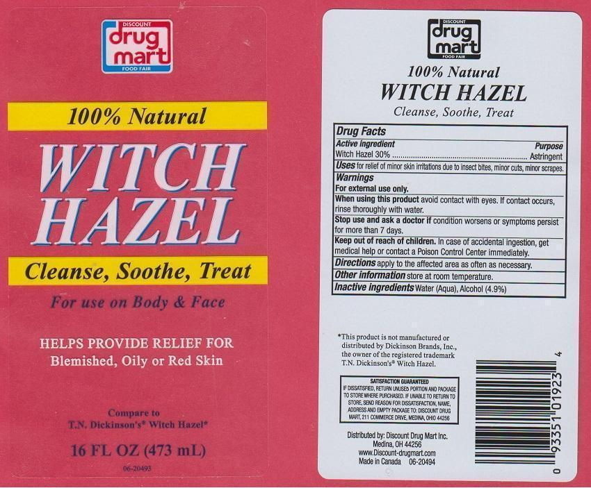 Discount Drug Mart Witch Hazel (Witch Hazel) Liquid [Discount Drug Mart]