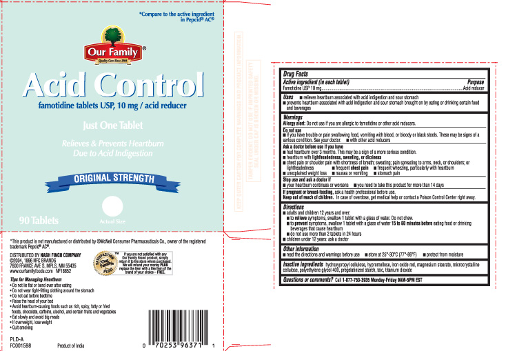Famotidine Tablet [Our Family (Nash Finch Company)]
