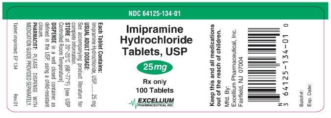 Imipramine 25mg 100tab Label