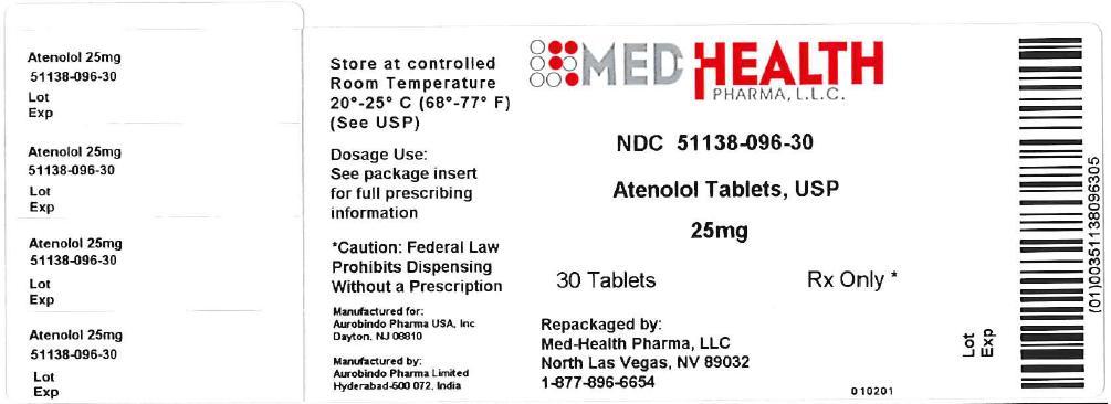 Atenolol Tablet [Med-health Pharma, Llc]
