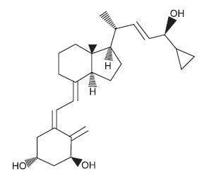 Structural Formula of Calcipotriene