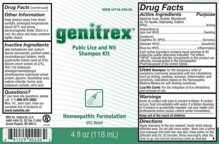Genitrex Label