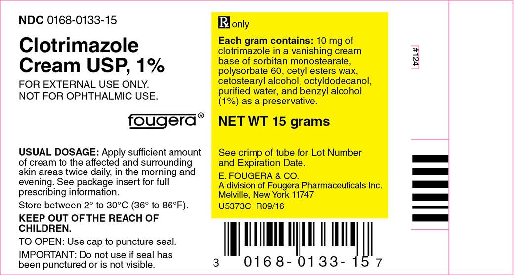 Clotrimazole Cream [E. Fougera & Co., A Division Of Fougera Pharmaceuticals Inc.]