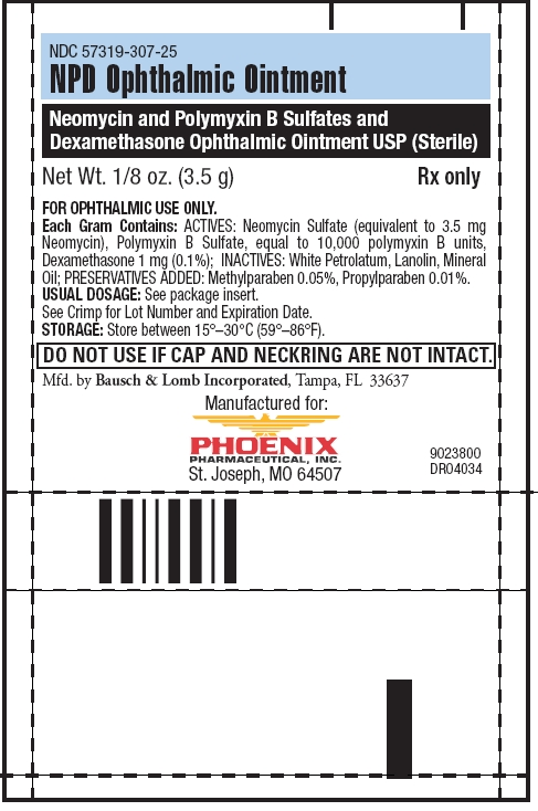 Npd (Neomycin Sulfate, Polymyxin B Sulfate, And Dexamethasone) Ointment [Phoenix Pharmaceutical, Inc.]