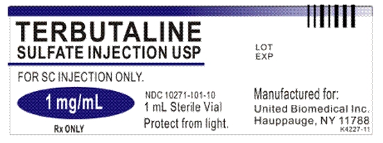 Terbutaline Sulfate Injection [United Biomedical Inc., Asia]