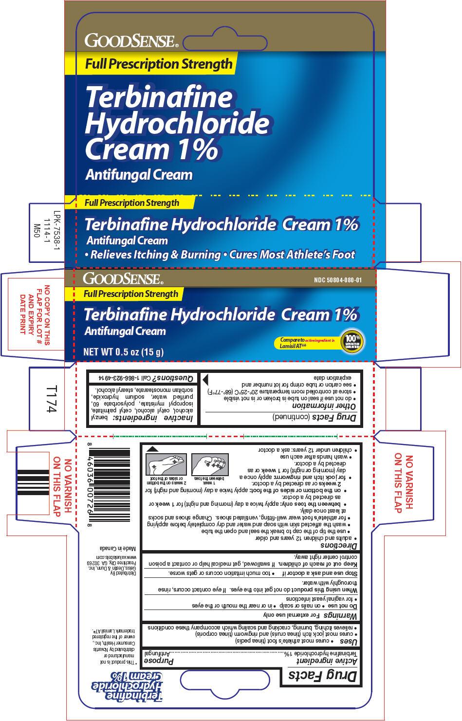 Goodsense Terbinafine Hydrochloride (Terbinafine Hydrochloride) Cream [Geiss, Destin & Dunn, Inc.]
