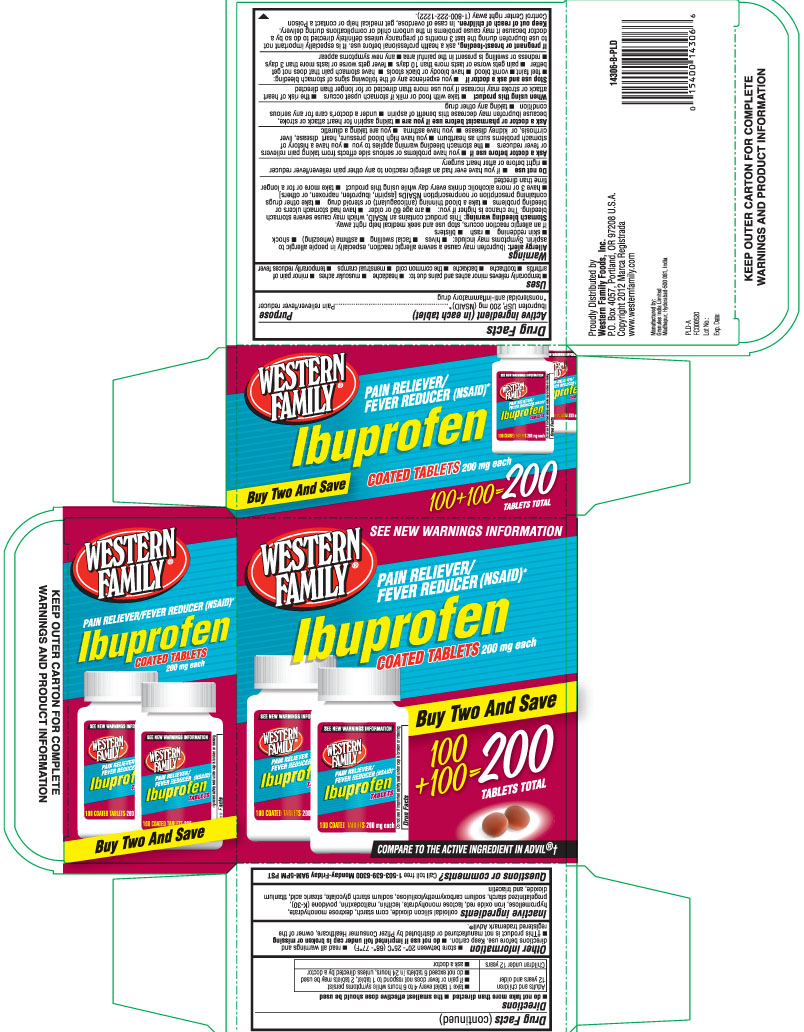 Ibuprofen Tablet, Coated [Western Family Foods, Inc.]