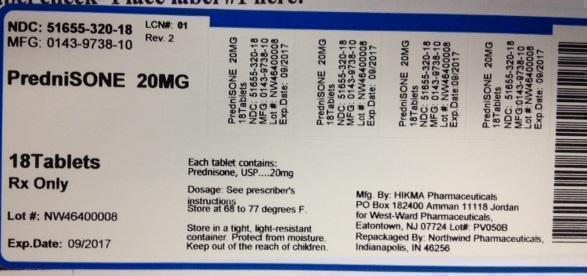 Prednisone Tablet [Northwind Pharmaceuticals]