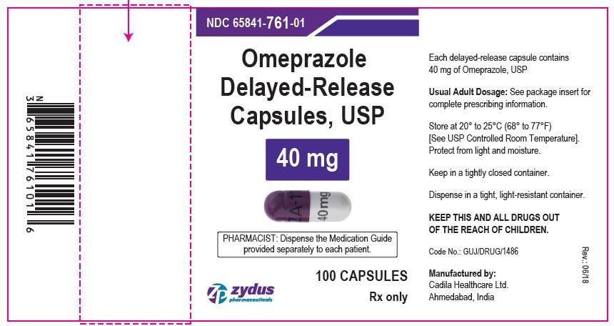 Omeprazole DR Capsules, 40 mg