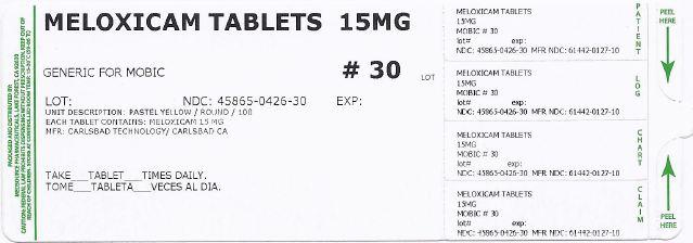 Meloxicam Tablet [Medsource Pharmaceuticals]