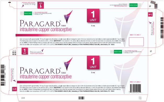 ParaGard® T380A Intrauterine Copper Contraceptive Single Carton