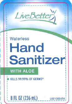 Waterless Hand Sanitizer (Alcohol) Gel [Onpoinr, Inc]