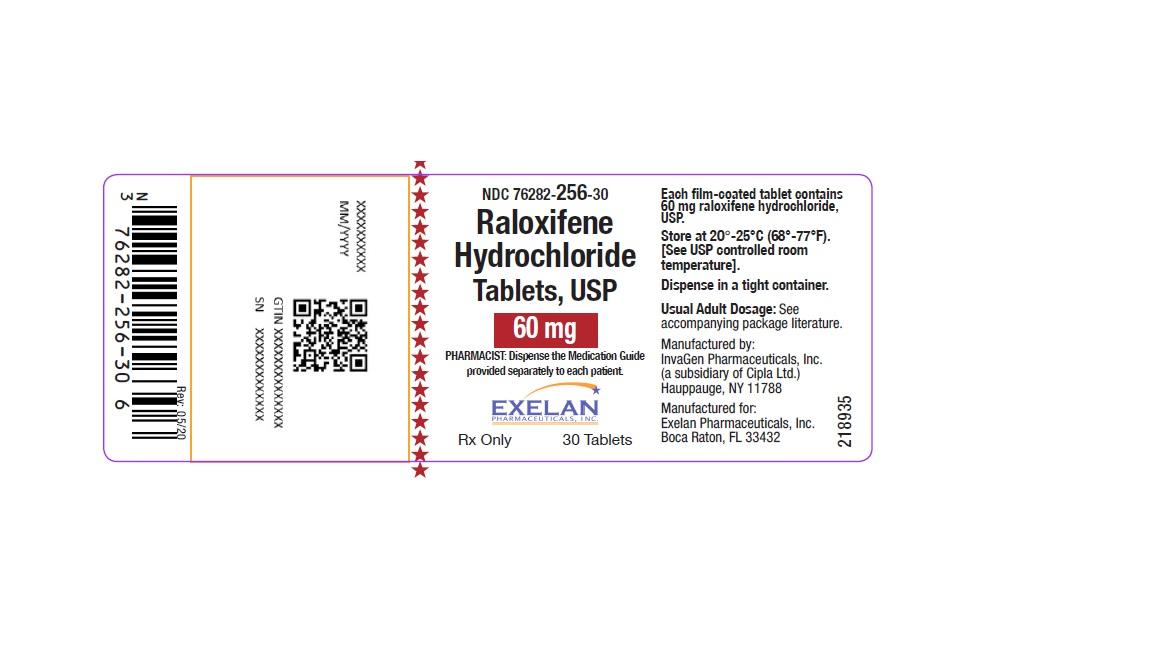Raloxifene Hydrochloride Tablet, Film Coated [Exelan Pharmaceuticals, Inc.]