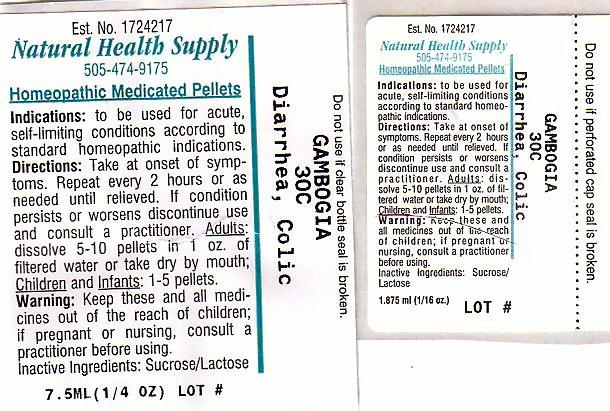Diarrhea Colic (Gamboge) Pellet [Natural Health Supply]