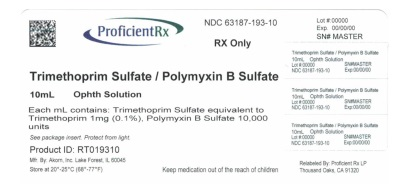 Trimethoprim Sulfate And Polymyxin B Sulfate Solution [Proficient Rx Lp]