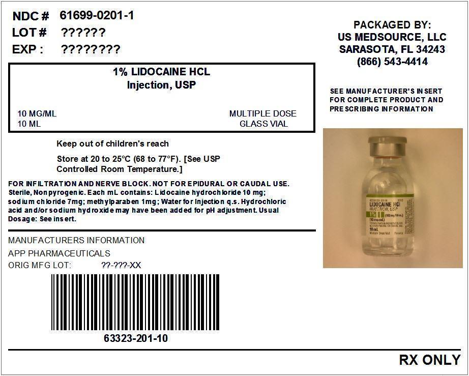 Lidocaine (Lidocaine Hydrochloride) Injection, Solution [Us Medsource, Llc]