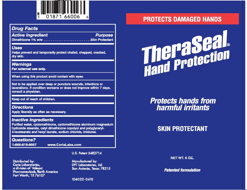 Theraseal (Dimethicone) Cream [Valeant Pharmaceuticals North America Llc]