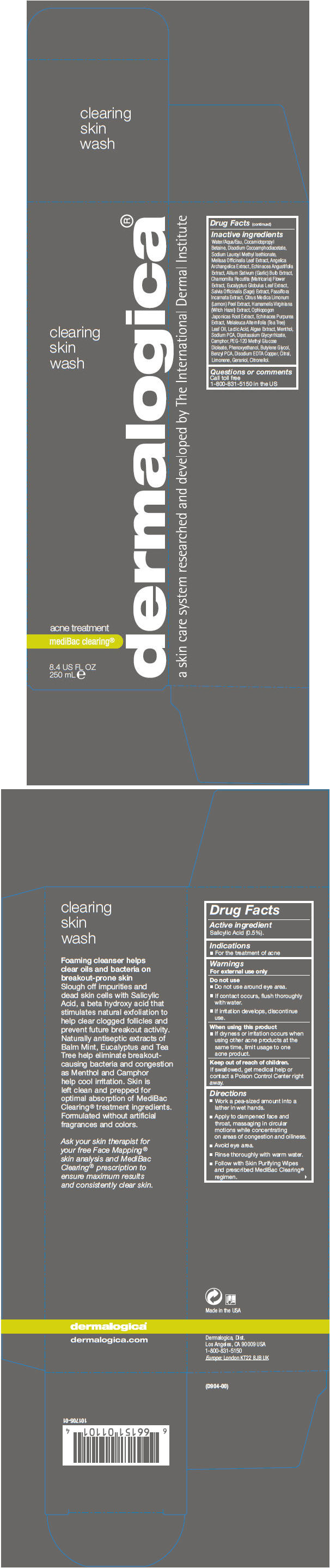 Clearing Skin Wash (Salicylic Acid) Liquid [Dermalogica, Inc.]