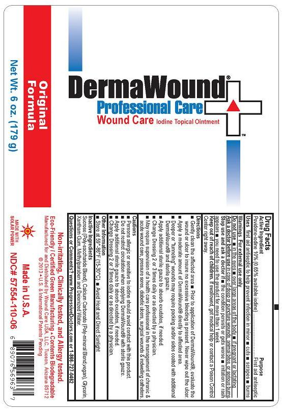 Dermawound Wound Care (Povidone-iodine) Ointment [Wound Care Usa, Llc]