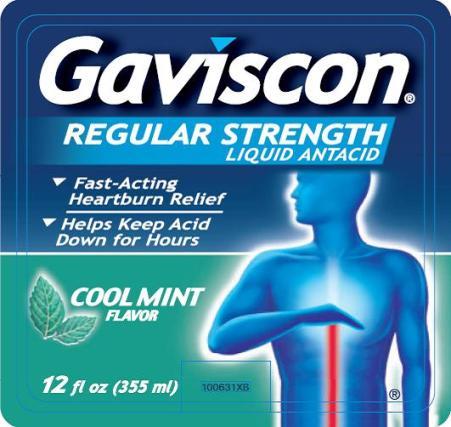 Gaviscon (Aluminum Hydroxide And Magnesium Carbonate) Liquid [Glaxosmithkline Consumer Healthcare Lp]