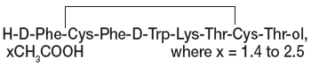 Octreotide Structural Formula