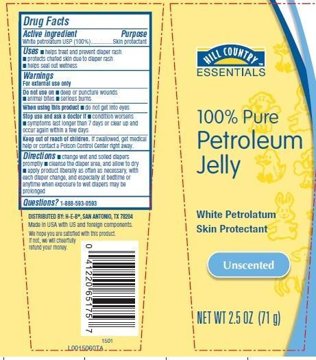 Petroleum (White Petrolatum) Jelly [H-e-b]
