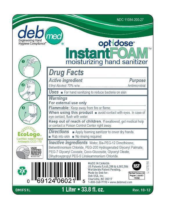 DMIFS1L Optidose label