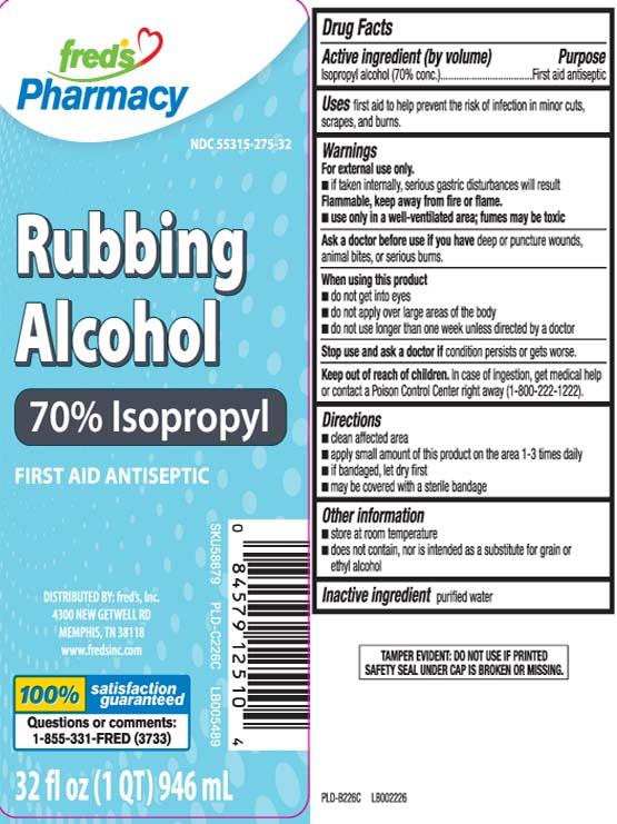 Isopropyl Alcohol 70 Percent (Isopropyl Alcohol) Liquid [Freds Inc]