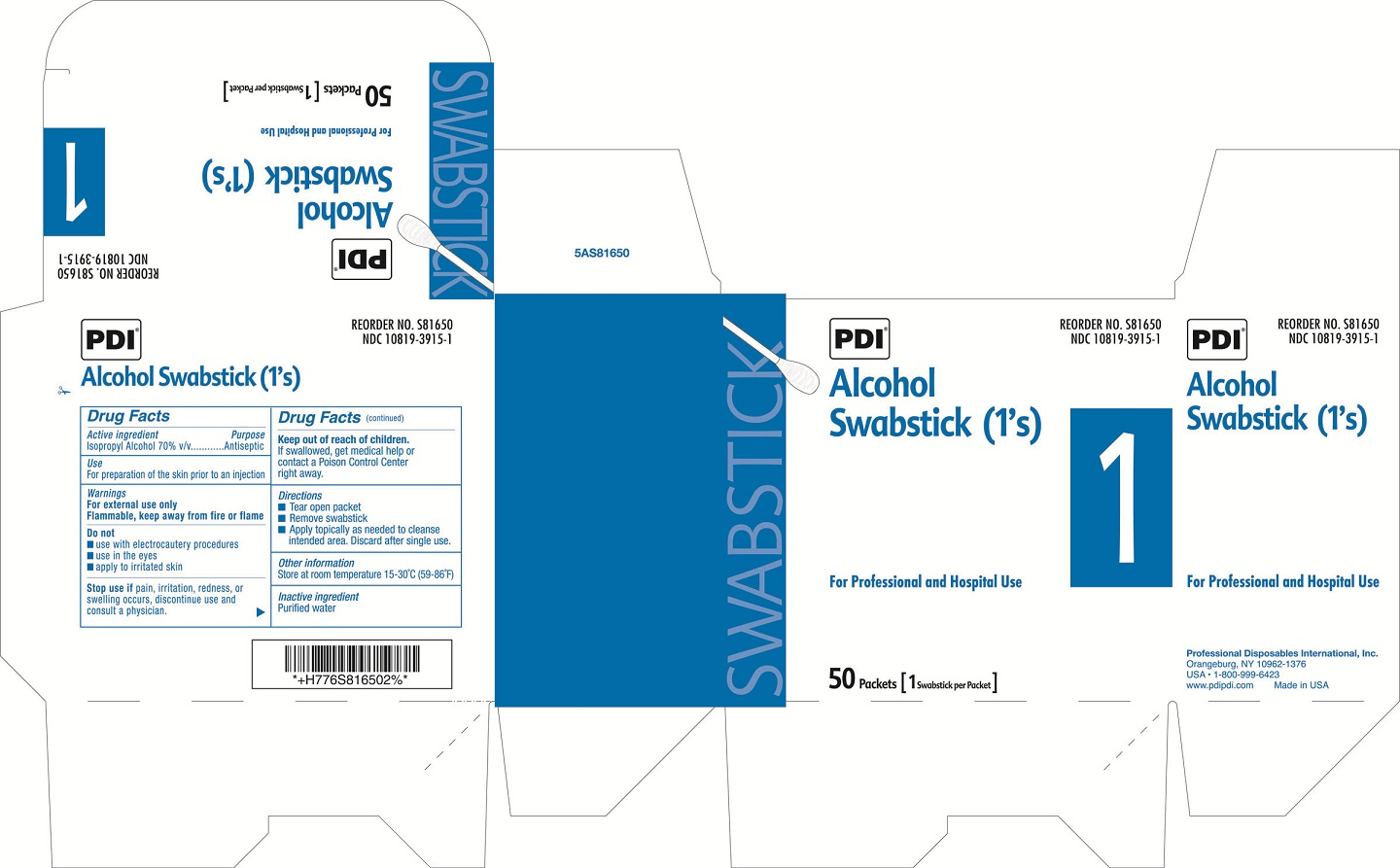 Image of Box Label Ones