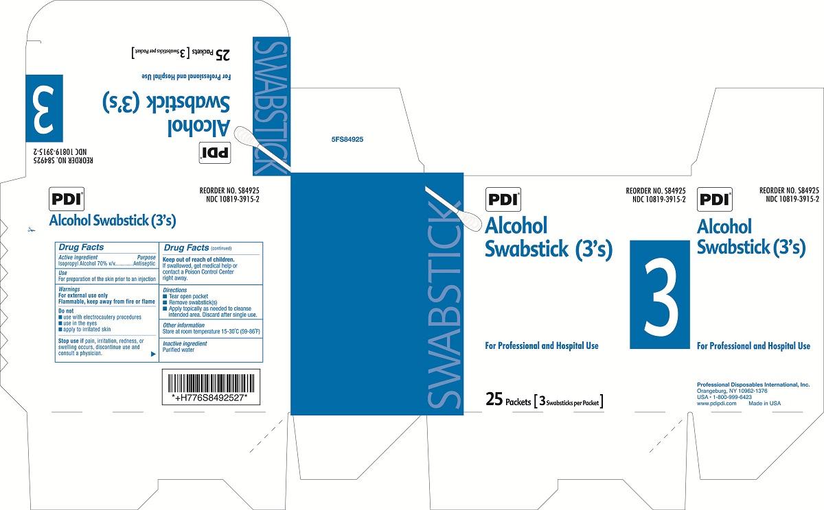 Image of Box Label Threes