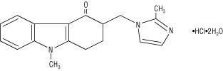 Ondansetron HCl Structure