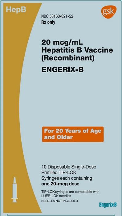 Engerix-b (Hepatitis B Vaccine (Recombinant)) Injection, Suspension [Glaxosmithkline Biologicals Sa]