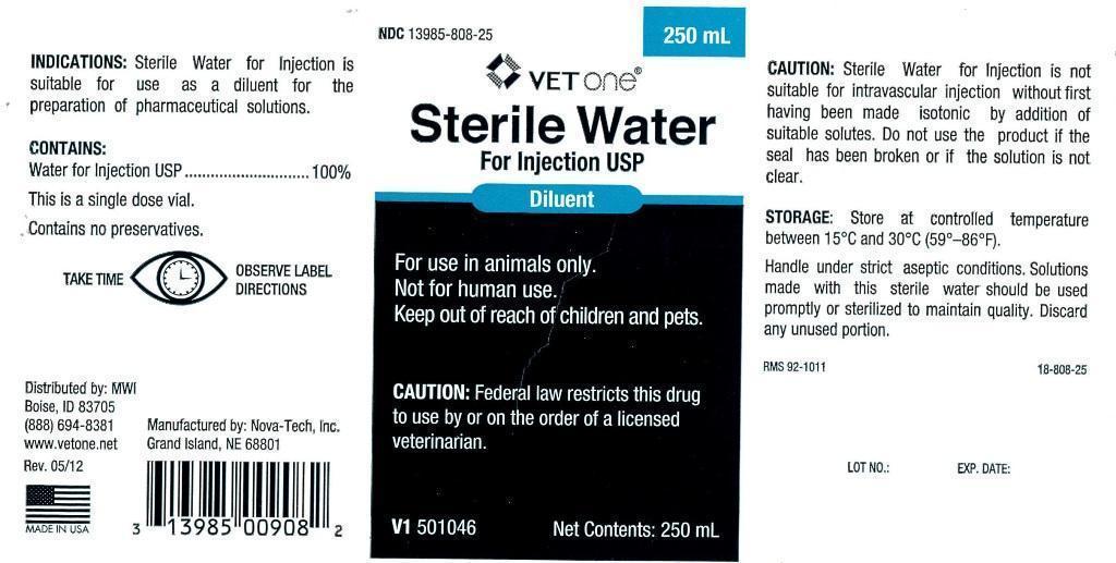 Sterile Water Injection [Mwi (Vetone)]