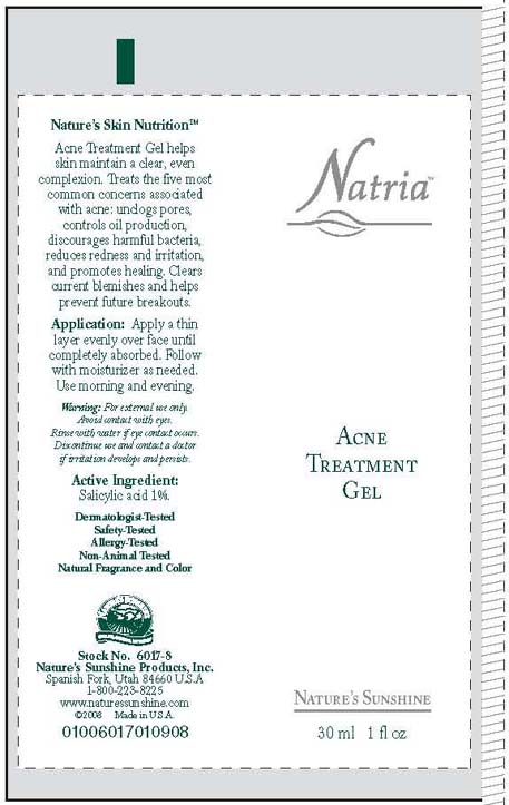 Natria Acne Treatment (Salicylic Acid) Cream [Wasatch Product Development, Inc. ]