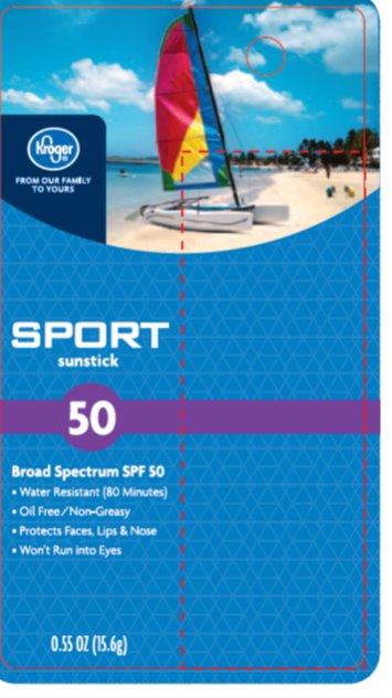 Kroger Sport SPF 50 Front of Card