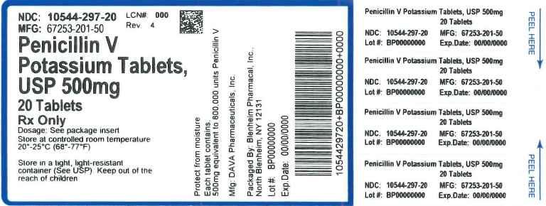 Label 500mg 20ct
