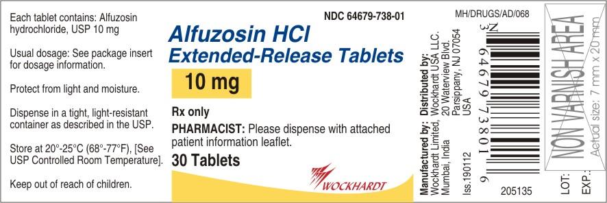 Alfuzosin Hydrochloride Tablet [Wockhardt Limited]