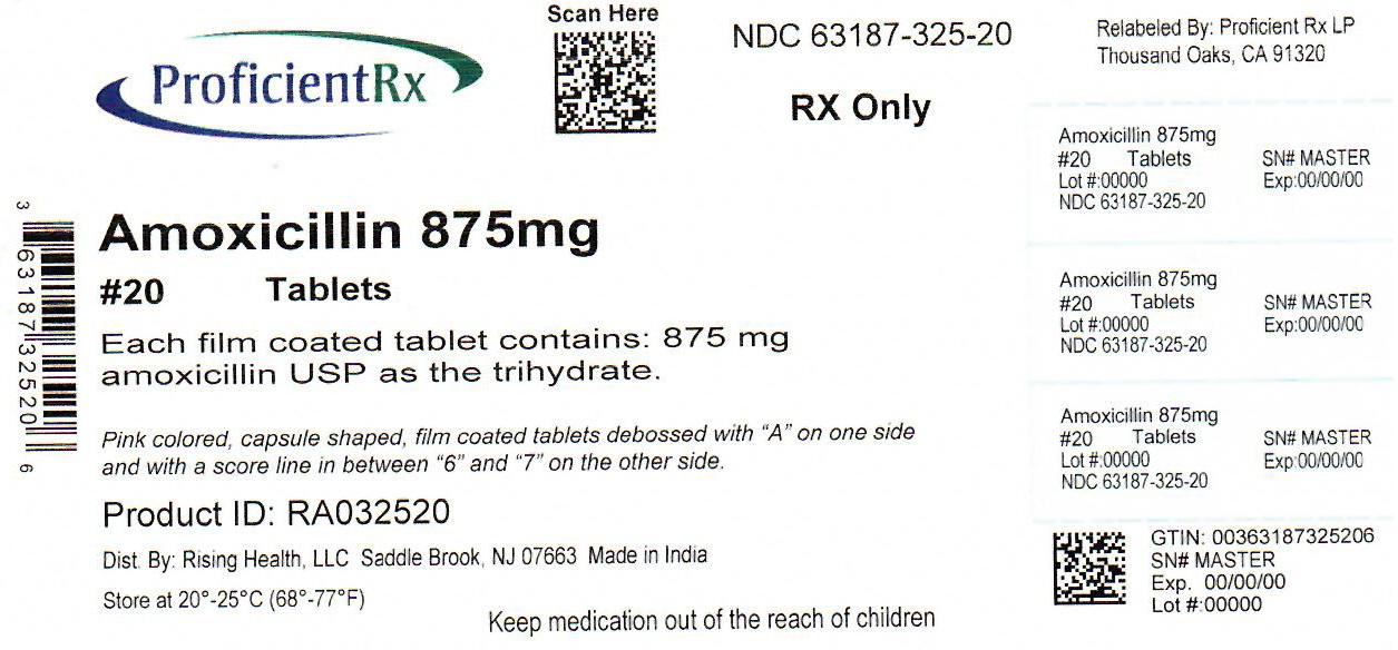 Amoxicillin Tablet, Film Coated [Proficient Rx Lp]