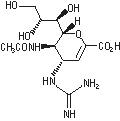 zanamivir structural formula