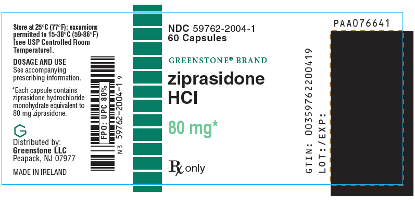 PRINCIPAL DISPLAY PANEL - 80 mg Capsule Bottle Label