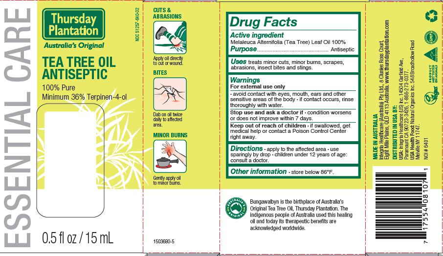 Tea Tree Oil 15 mL Carton