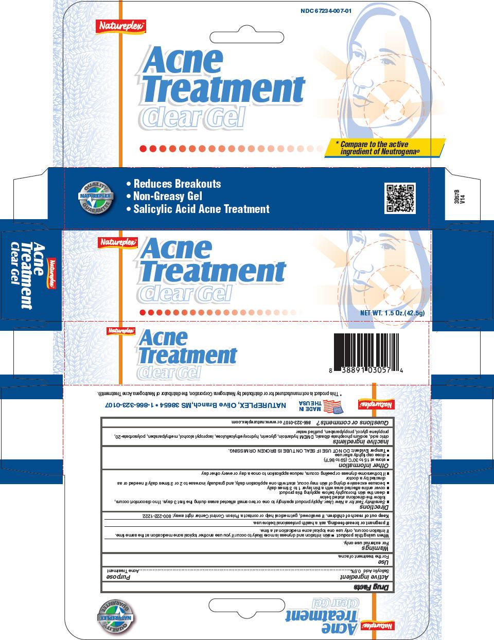 Acne Treatment (Salicylic Acid) Gel [Natureplex Llc]